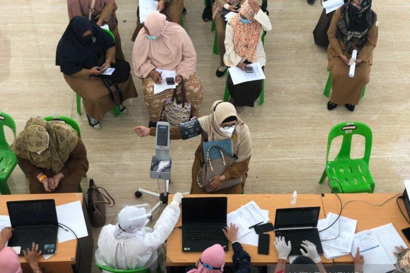 Cakupan Vaksinasi Covid 19 Di Aceh Masih 15 Persen Antara News