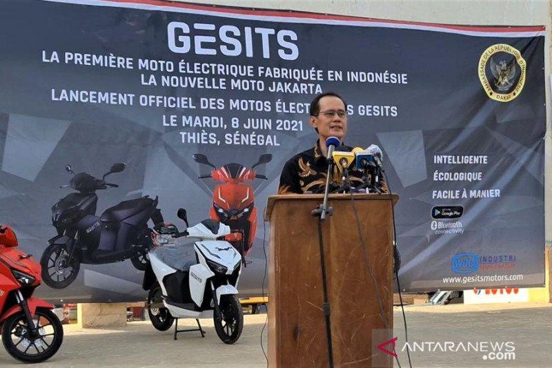 KBRI Dakar promosikan motor listrik buatan Indonesia di Senegal