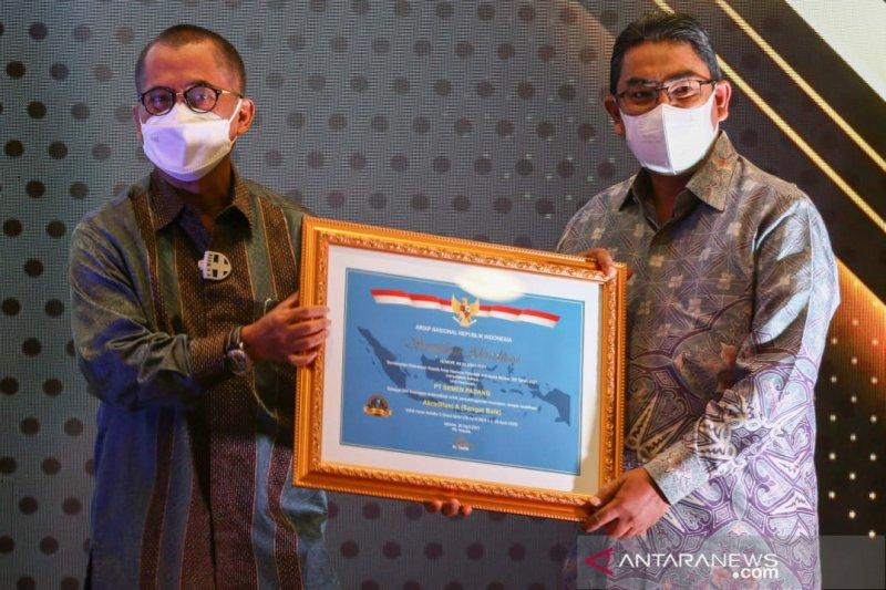 Dinilai baik mengelola arsip, PT Semen Padang kembali raih sertifikat akreditasi A dari ANRI