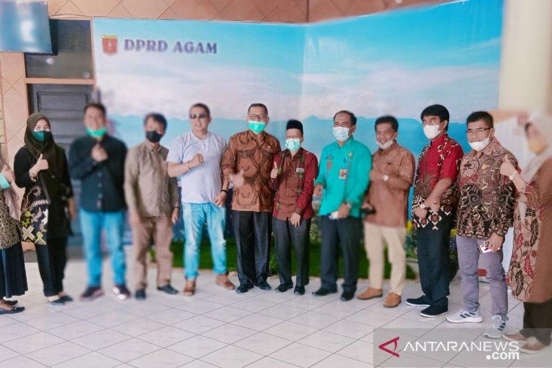 Rombongan DPRD Bukittinggi kunjungi Lubukbasung, pelajari  penyusunan Perda dengan legislator Agam