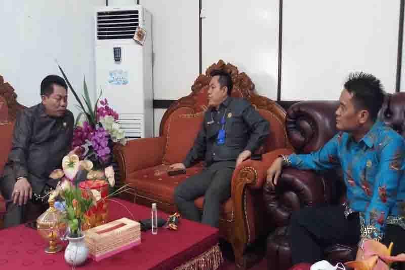 DPRD Bartim terima kunjungan Ketua DPRD Kalteng