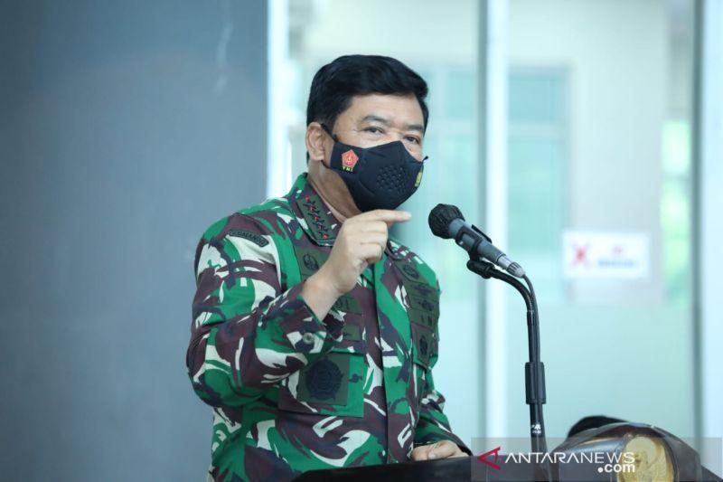 Panglima TNI memutasikan 104 Perwira Tinggi TNI