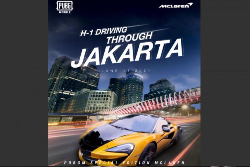 Hari ini, PUBG Mobile  bawa McLaren mengaspal di Jakarta