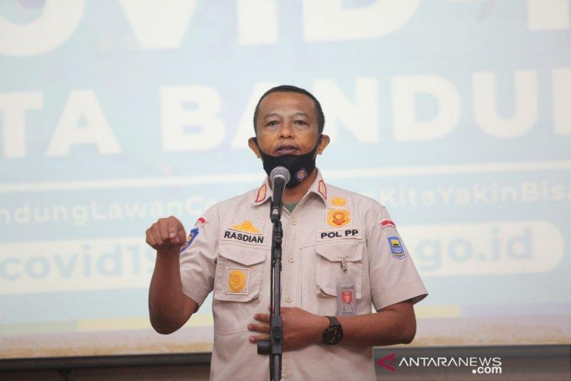 Satpol PP sebut seluruh gerai McD di Kota Bandung didenda