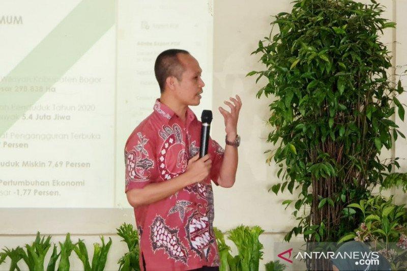 Tidak terdampak pandemi, Pemkab Bogor apresiasi penyuluh pertanian