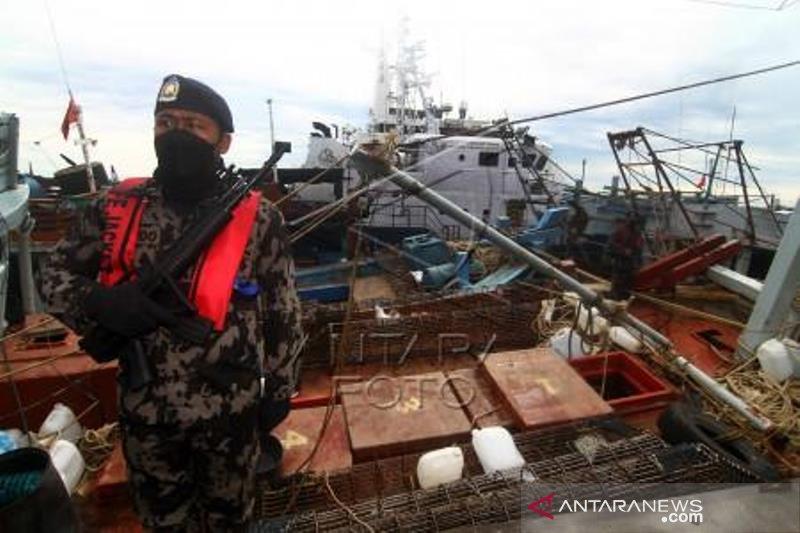 KKP Tangkap 19 Kapal Pencuri Ikan