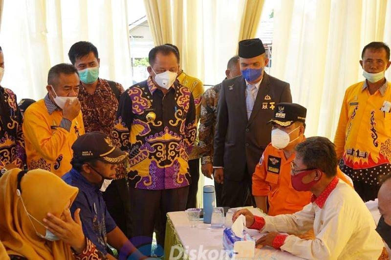 """Bupati Lampung Tengah luncurkan program """"Bunga Kampung"""""""