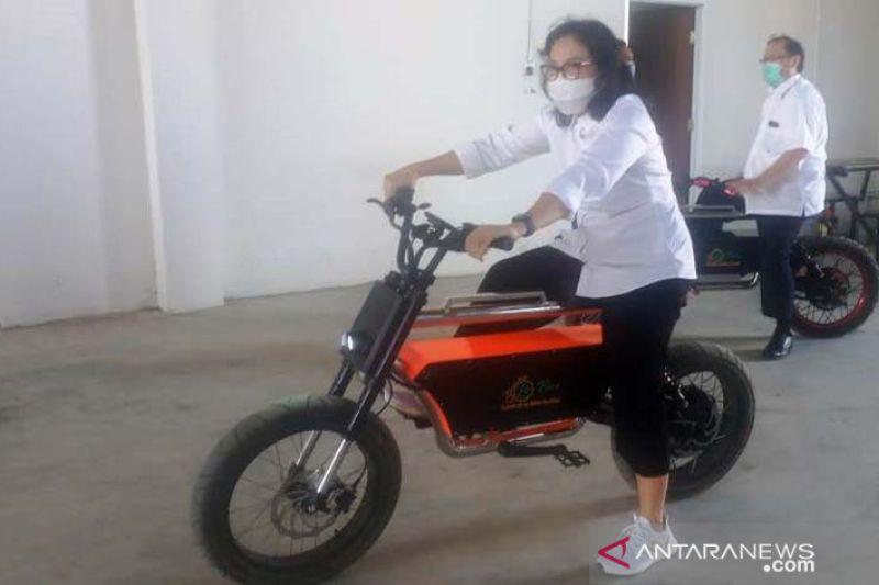 Sepeda listrik karya warga NTB