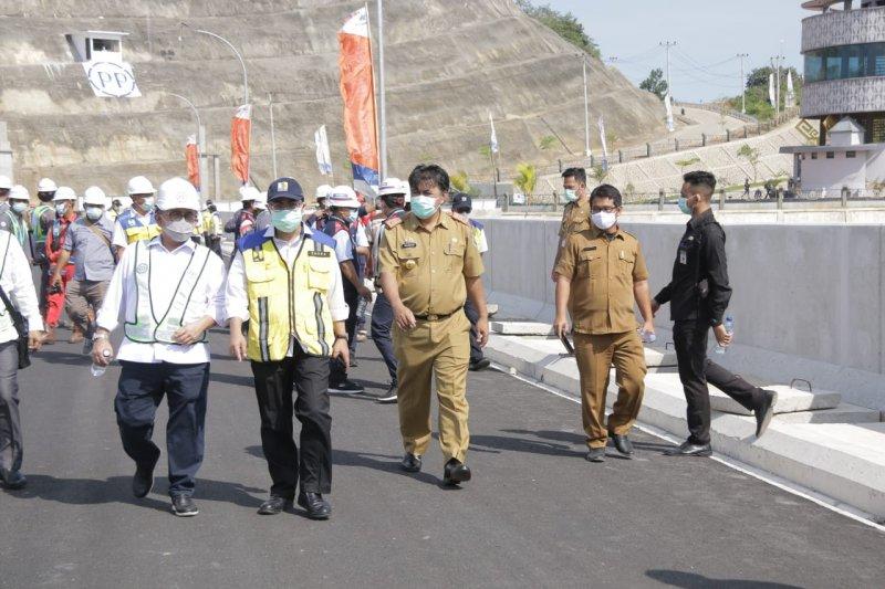 Kementerian PUPR pantau persiapan pembangunan bendungan Way Sekampung