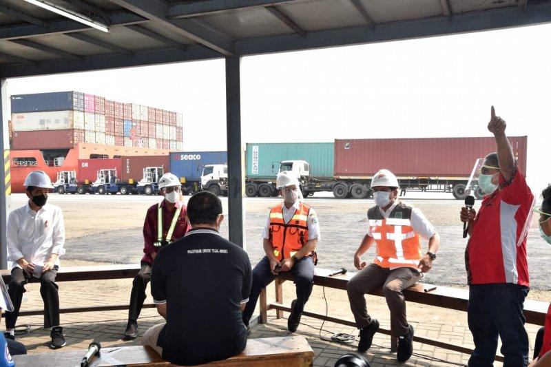 Presiden minta Kapolri tindak premanisme dan pungli di Pelabuhan Tanjung Priok