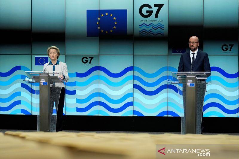 Kasus COVID-19, hotel delegasi KTT G7 ditutup