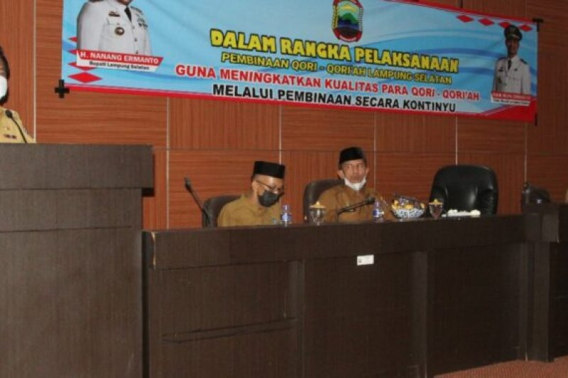 Lampung Selatan lakukan pembinaan qori-qoriah untuk hadapi MTQ tingkat provinsi dan nasional