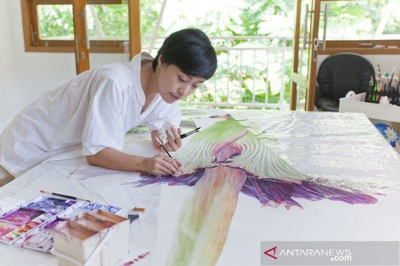 Alumnus UNS mengambil peran dalam pelestarian lingkungan lewat seni
