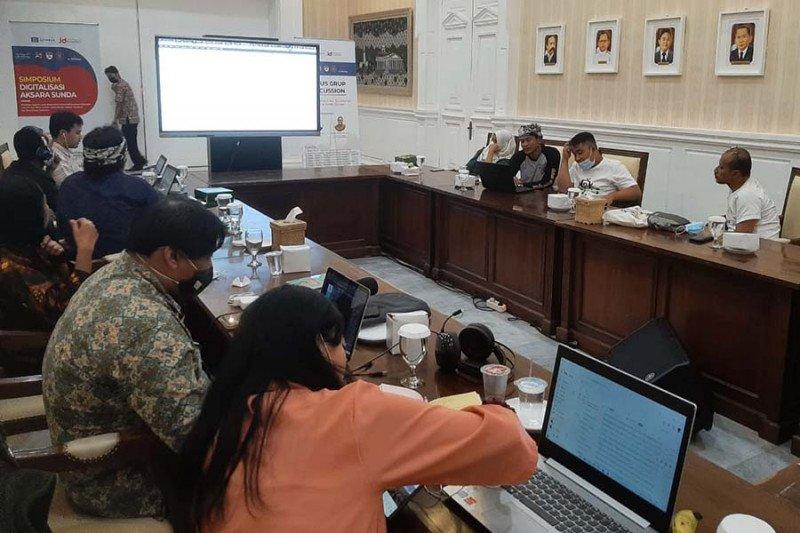 Aksara Jawa dan Sunda akan diajukan untuk dapatkan SNI