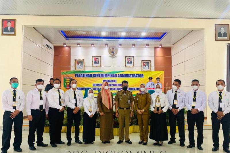 Pemkab Tulang Bawang kirim sembilan pejabat ikuti pelatihan administrator