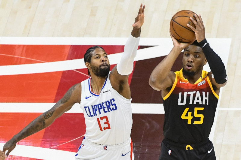 Donovan Mitchell pimpin Jazz menjauh  2-0 dari Clippers