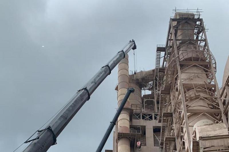 PT Semen Padang turunkan kadar emisi debu dari cerobong pabrik