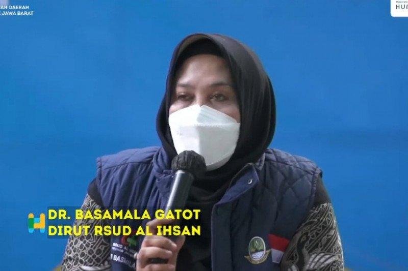 Mayoritas pasien COVID-19 dirujuk ke RSUD Al-Ihsan kondisi kritis