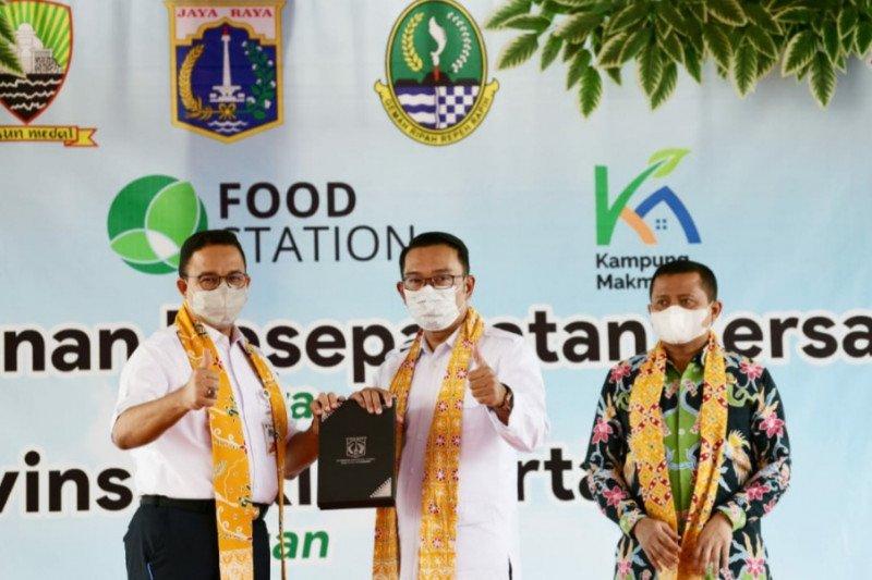 Pemda Jabar dan DKI kerja sama sektor pangan dorong pemulihan ekonomi