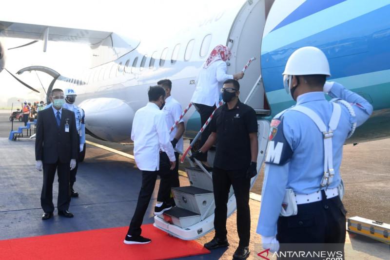 Presiden ke Jateng lihat infrastruktur dan vaksinasi massal