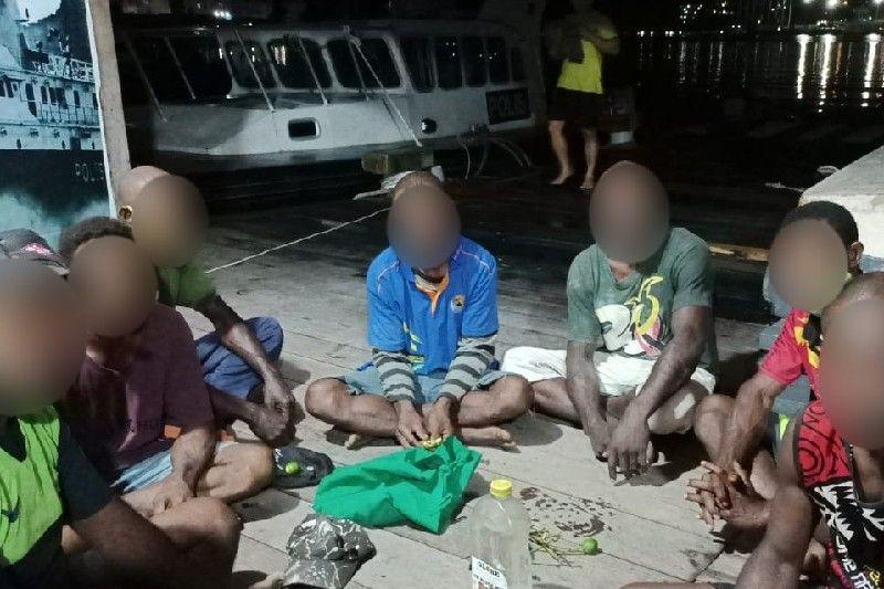 Patroli Dirpolair Polda Papua tangkap tujuh WN PNG