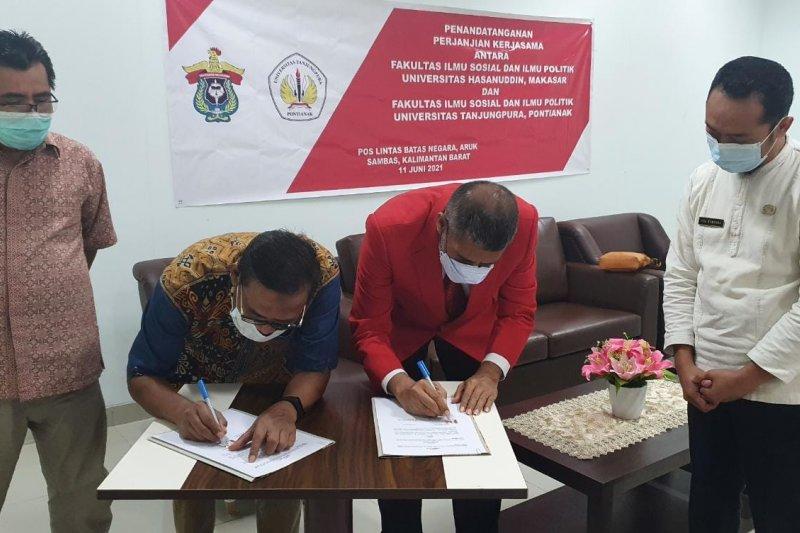 Unhas Makassar-Untan Pontianak kerja sama bahas perbatasan Indonesia-Malaysia