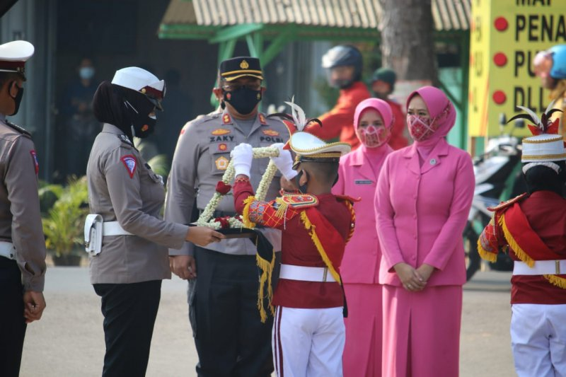Pisah sambut Kapolres Lampung Timur, AKBP Wawan harap jajaran personel berikan dedikasi terbaik