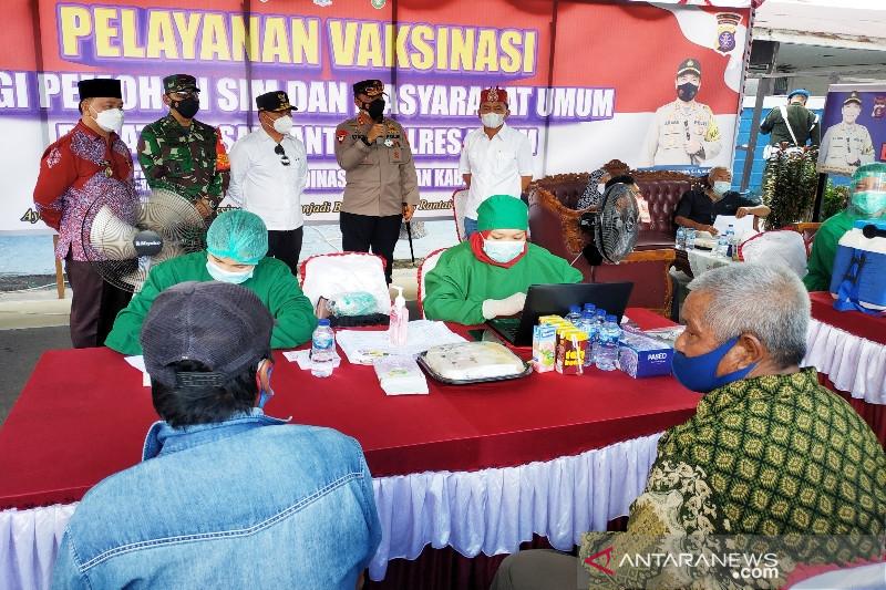 Kapolda Kalteng perintahkan jajarannya fasilitasi lansia untuk divaksinasi