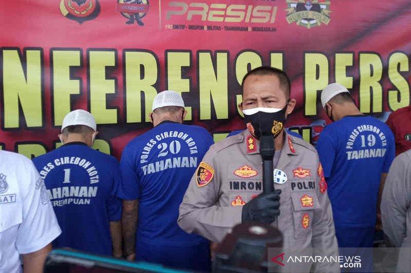 Polisi tangkap empat begal sadis yang beraksi di Kota Cirebon