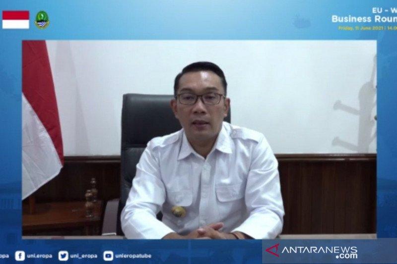Gubernur Jawa Barat optimistis bisa tingkatkan kerja sama dengan Uni Eropa