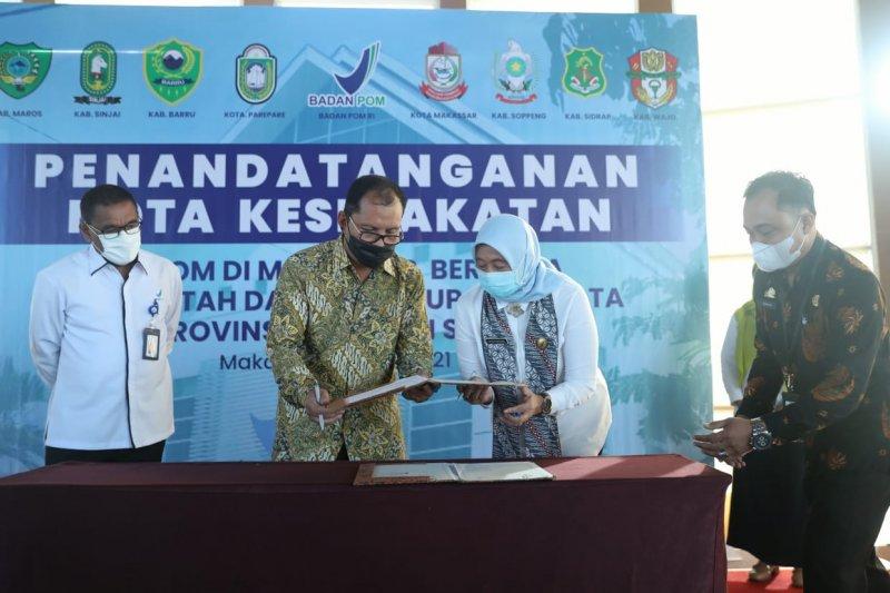 Pemkot Makassar-BBPOM berkomitmen jaga kualitas peredaran makanan