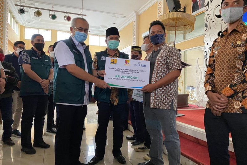 PUPR salurkan bantuan perbaikan rumah Rp36,1 miliar di Kabupaten Bandung