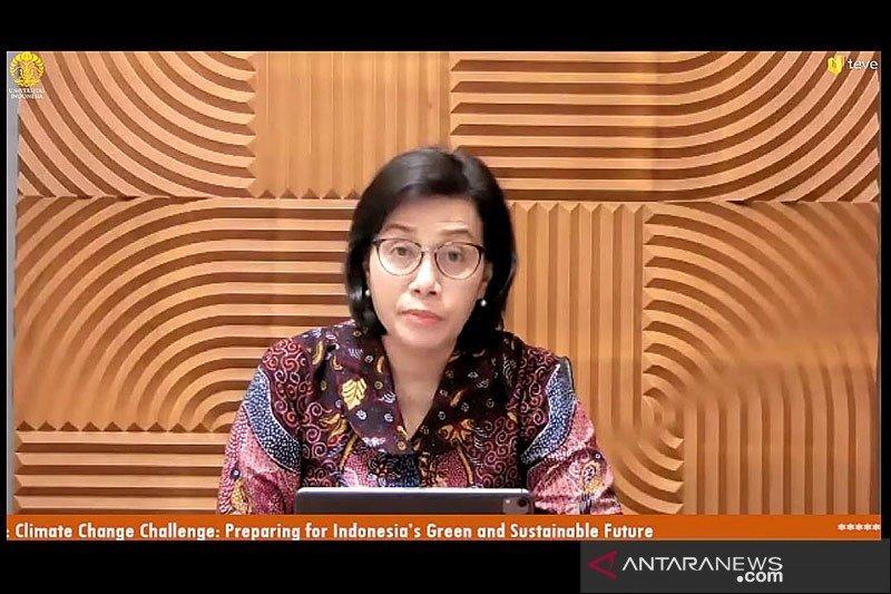 Sri Mulyani : Butuh dana Rp3.461 triliun penuhi target Perjanjian Paris