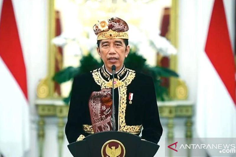 Presiden Jokowi membuka Pesta Kesenian Bali ke-43