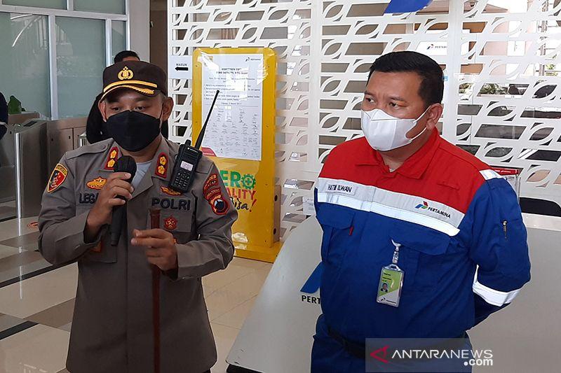 Polisi selidiki penyebab kebakaran di Kilang Pertamina di Cilacap