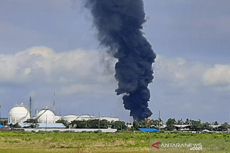 Pertamina Cilacap pantau dampak asap kebakaran terhadap  masyarakat