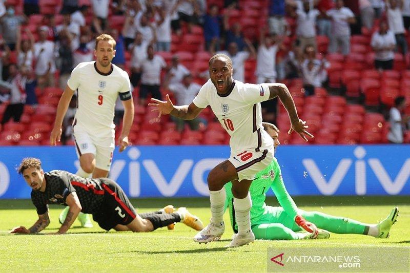 Inggris menang tipis 1-0 dari Kroasia di Euro 2020