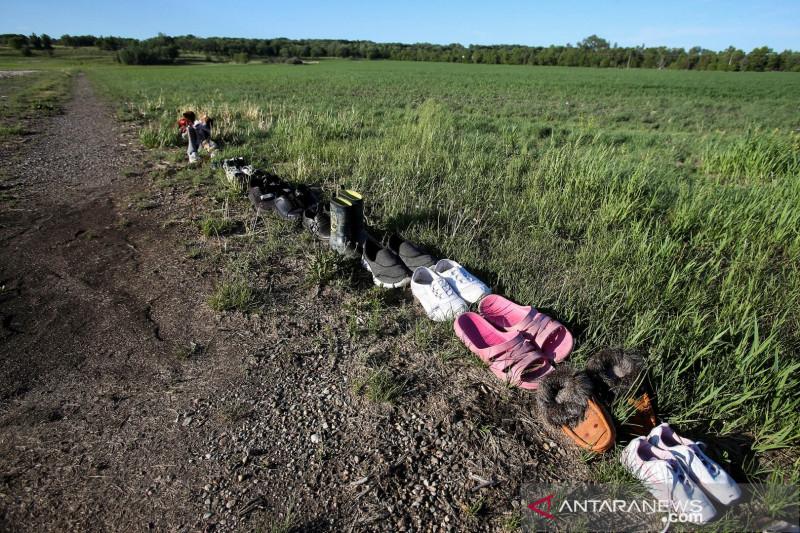 Kelompok pribumi Kanada umumkan penemuan ratusan kuburan nirtanda