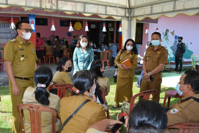 Realisasi vaksinasi COVID-19 di Morowali Utara baru empat persen