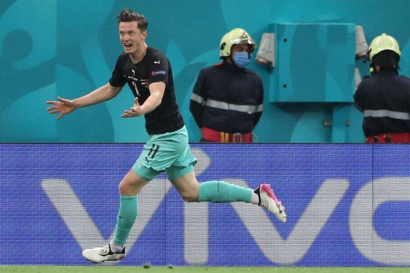 Michael Gregoritsch cetak gol ke-700 dalam sejarah  putaran utama Euro