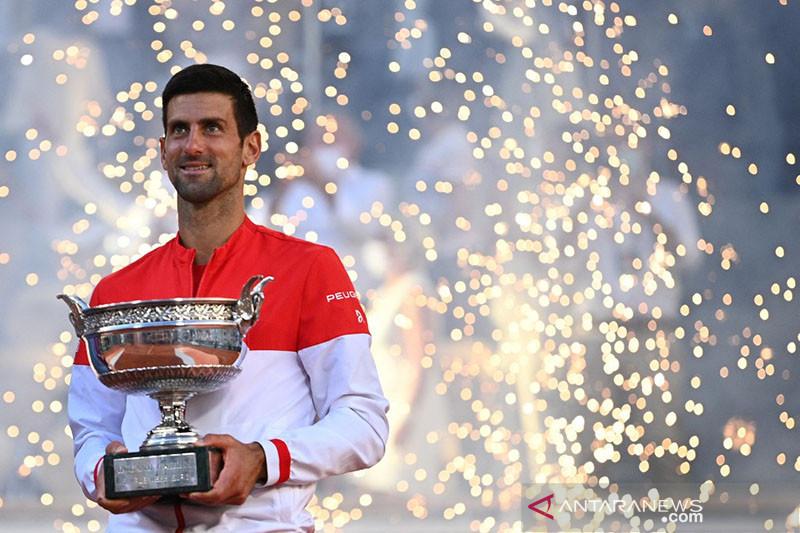 Djokovic juara Prancis Terbuka 2021