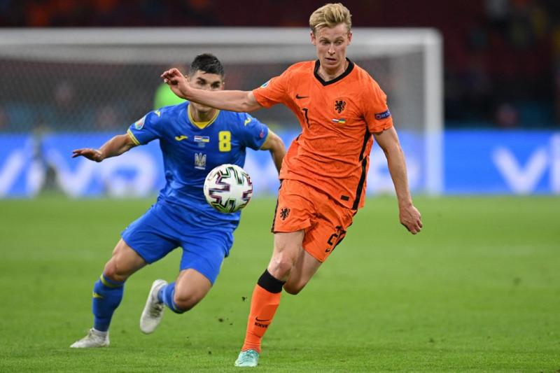 Euro 2020 - Taktik berisiko tinggi Frank de Boer masih membuahkan hasil