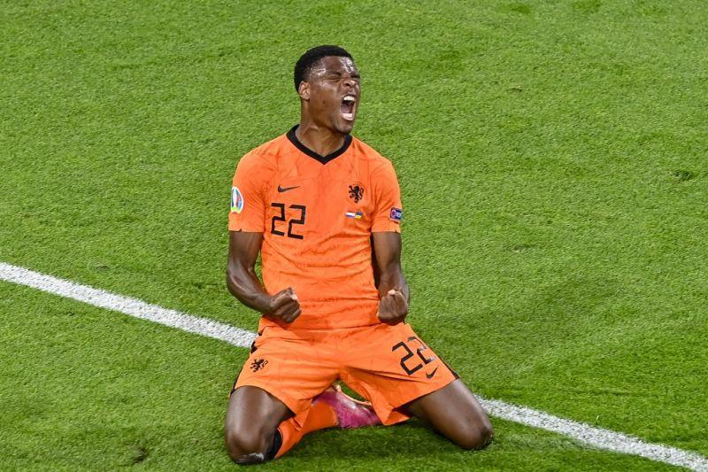 Denzel Dumfries dinobatkan pemain terbaik Belanda vs Ukraina