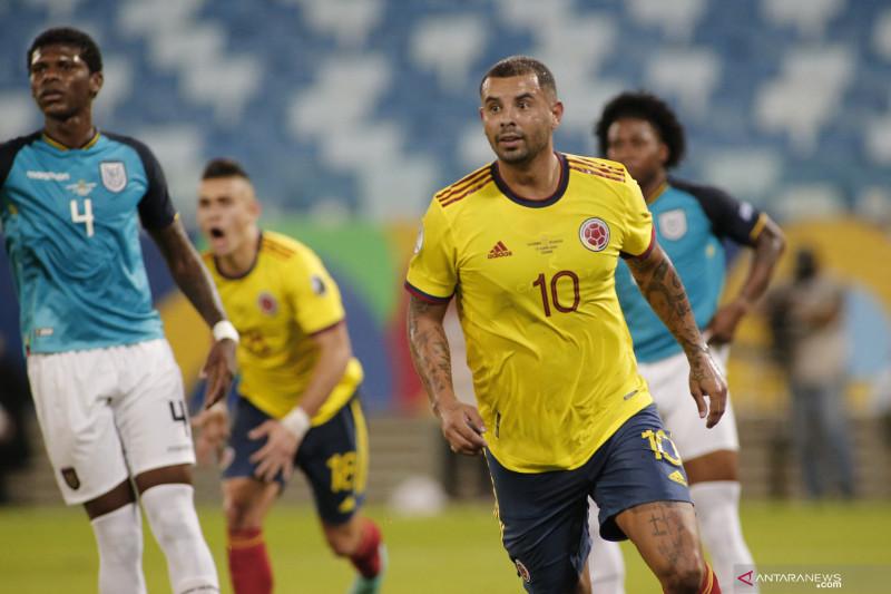 Pertandingan berjalan seimbang, Kolombia menang tipis 1-0 atas Ekuador
