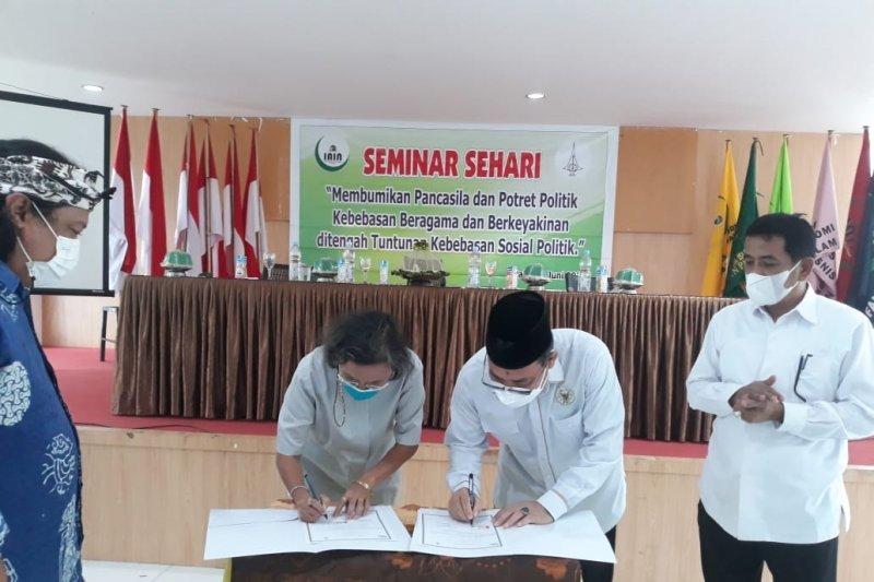 IAIN Palu dan KN-LWF  kerja sama tanamkan Pancasila kepada mahasiswa