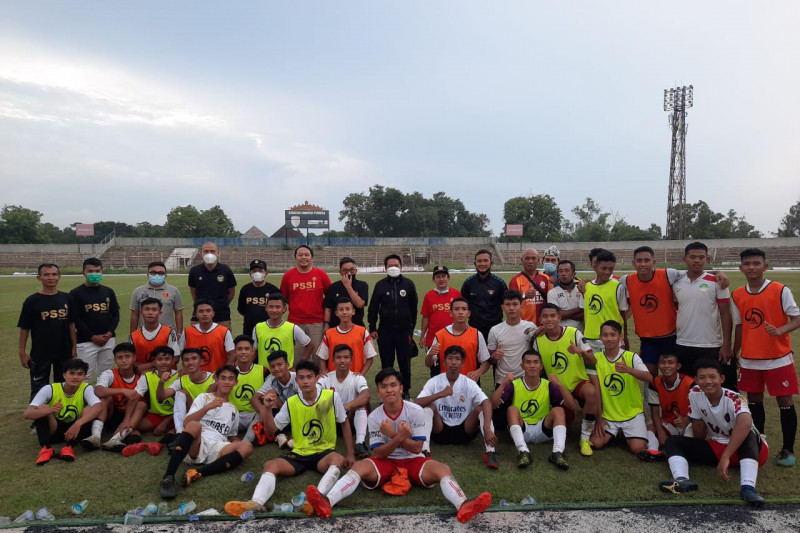 Asprov PSSI Lampung gelar kongres tahunan via zoom
