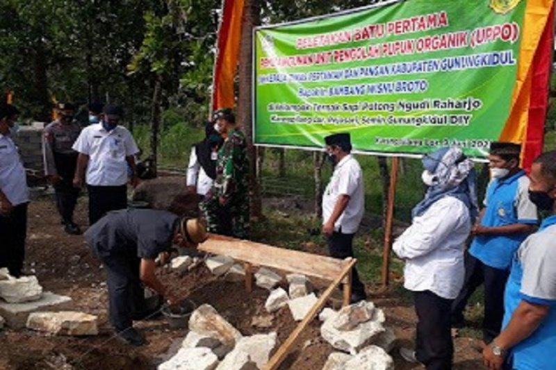 Dukung kebutuhan pupuk organik, Gunung Kidul salurkan UPPO kepada tiga kelompok ternak