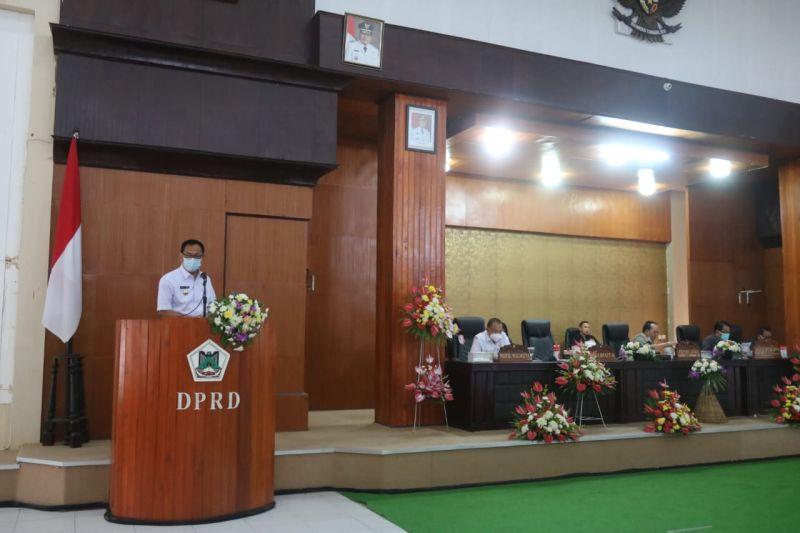 Tiga fraksi setujui bahas ranperda pertanggungjawaban APBD 2020