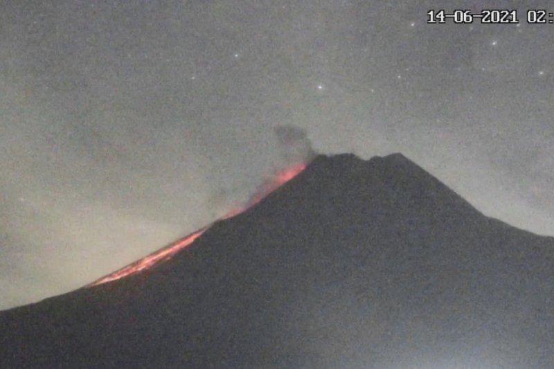 Merapi luncurkan awan panas guguran sejauh 1,6 km