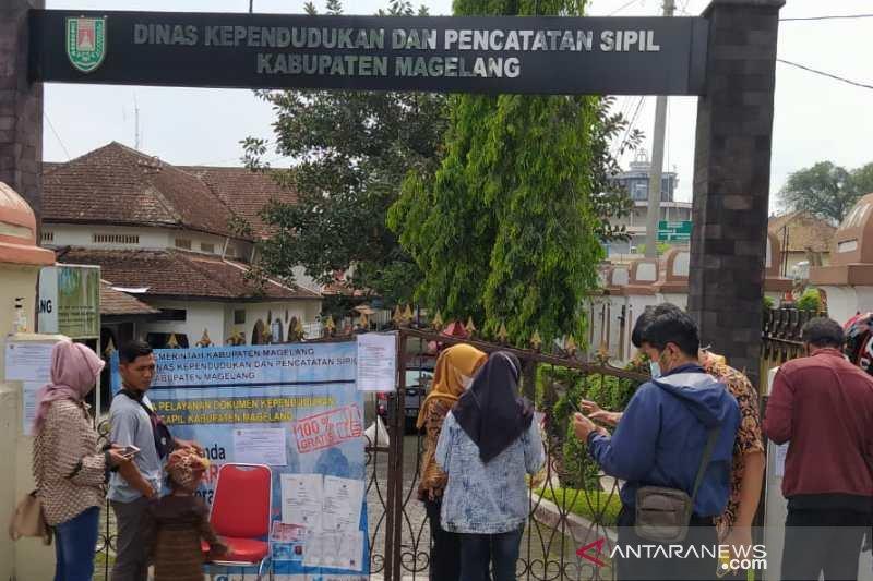 Satu pegawai Disdukcapil Magelang positif COVID-19, kantor ditutup sementara